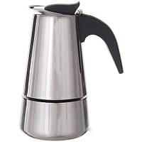 Кофеварка гейзерная А-Плюс на 9 чашки 2089, фото 1