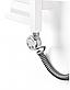 ТЕН Terma MEG 1.0 Chrome 600W з прихованим монтажем кабелем, фото 2