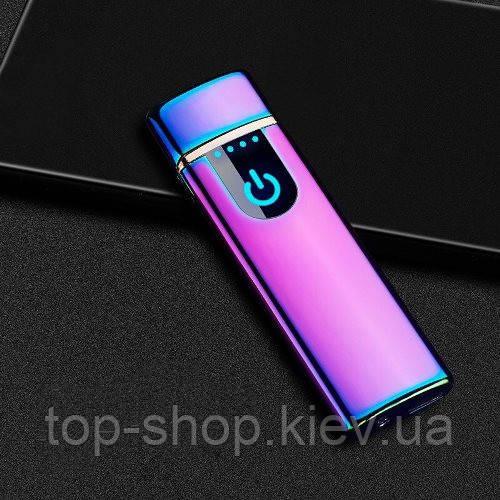 Электроимпульсная зажигалка USB Lighter 752 в подарочной упаковке