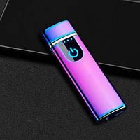 Электроимпульсная зажигалка USB Lighter 752 в подарочной упаковке, фото 1