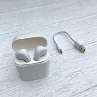 Беспроводные наушники apple earpods HBQ I7 TWS для айфона аирподс