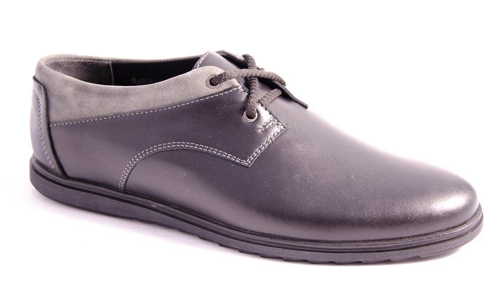 Туфли мужские черные Romani 5680305 р.40-45