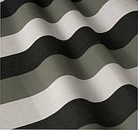 Уличная ткань в полоску черный белый серый. Дралон. Испания LD 84328 v4