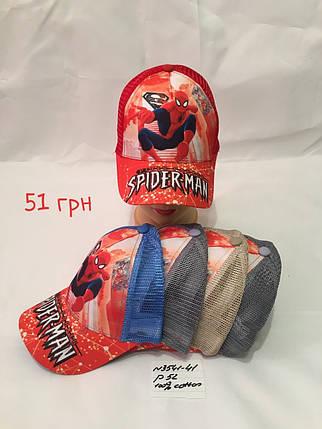 Кепка для мальчика Spiderman,р.52,коттон, фото 2