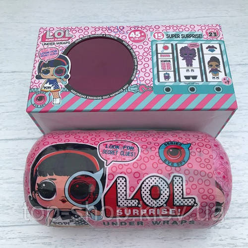 Кукла L.O.L. S4 секретные месседжи в капсуле (аналог). ЛОЛ в дисплее