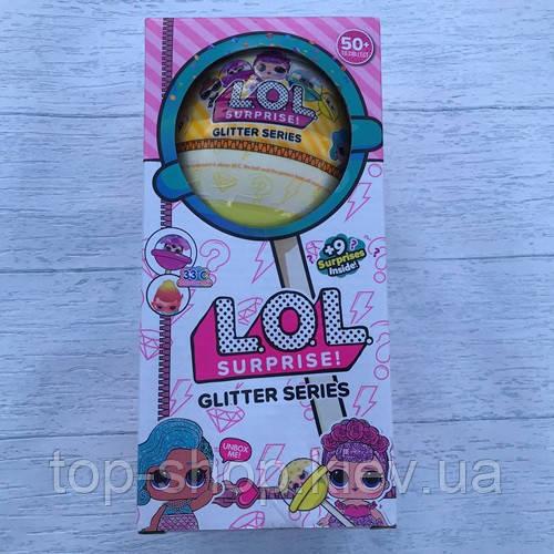 Кукла Лол Чупа чупс Lol Surprise! Glitter series