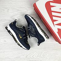 b3257009 Женские Кроссовки Nike Air Max 97 Прессованная кожа Плотная сетка