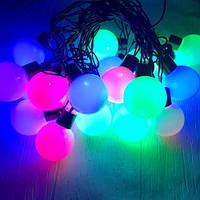 Гирлянда уличная шарики LIGHT LED 20 шариков 5,3 м (ретро), фото 1