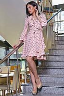 Нежное платье женское в горох SV 3353, фото 1