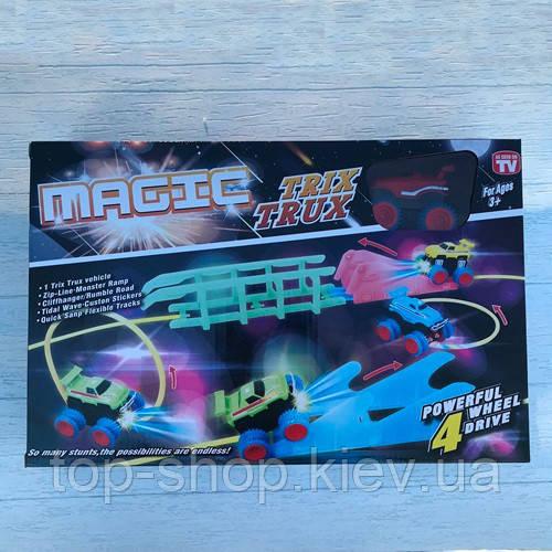 Трасса монстр-траки Magic Trix Trux 1 машинка