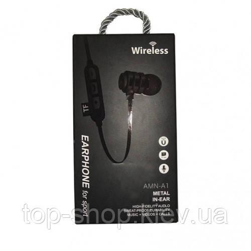Беспроводные блютуз наушники wireless AMN-A1