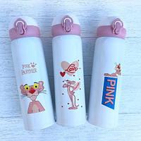 Термос детский питьевой Розовая Пантера 500 мл