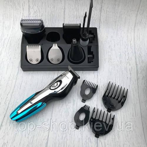 Набор для стрижки Gemei GM-562 триммер для бороды и волос 11 в 1