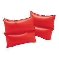 Нарукавник 59640 INTEX красный, 19-19см, 3-6лет, винил, 2шт в кульке, 16-25-1см