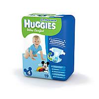 Подгузники Huggies Ultra Comfort №4 8-14 кг (19 шт) (хаггис ультра комфорт) для мальчиков