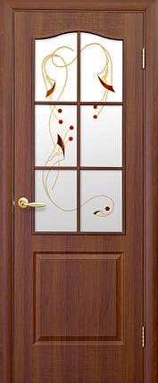 Модель Фортис ПВХ стекло Р1 межкомнатные двери, Николаев, фото 2