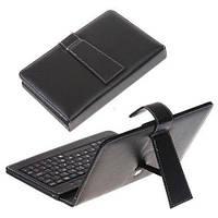"Чехол клавиатура для ПК планшета 9"" micro USB, фото 1"