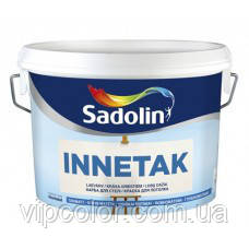 Sadolin INNETAK 10 л глубокоматовая краска для внутренних работ, Белая