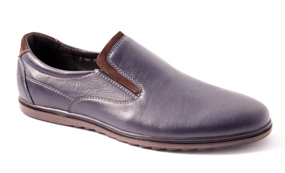 Туфли мужские синие Romani 5680421 р.40-45