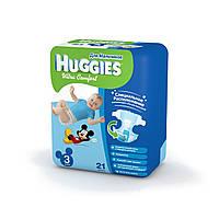 Подгузники Huggies Ultra Comfort №3 5-9 кг (21 шт) (хаггис ультра комфорт) для мальчиков