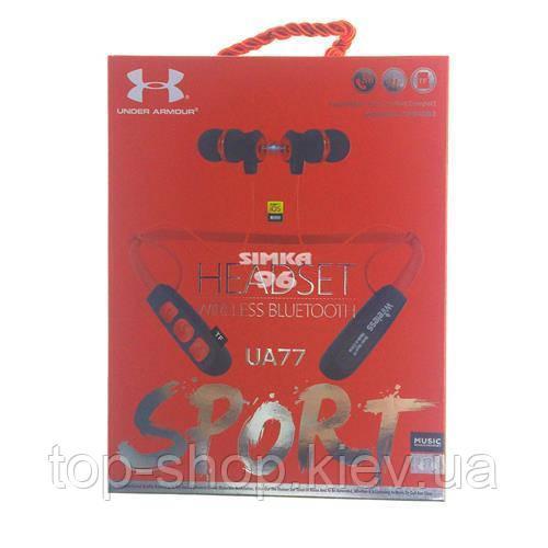 Наушники Bluetooth Wireless UA77 с ободком