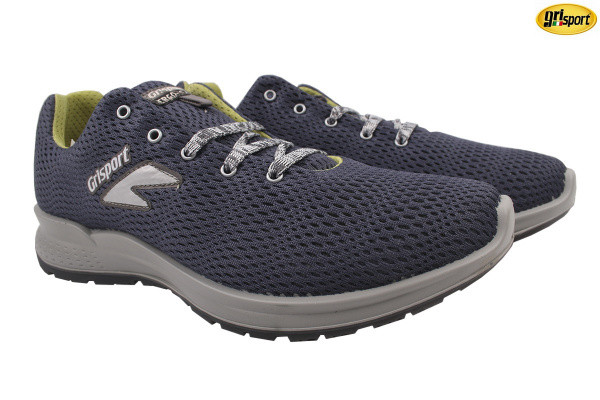 Туфли спорт Grisport текстиль, цвет синий