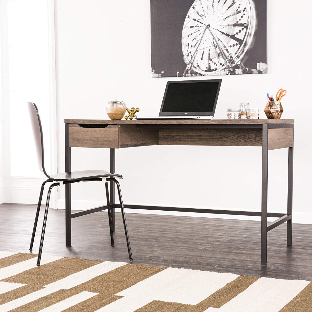 """Письмовий стіл """"Майкон"""" з масиву дерева в стилі loft"""