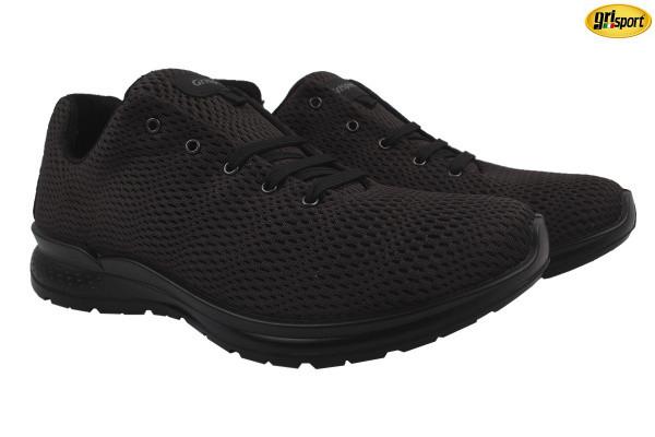 Туфли спорт Grisport текстиль, цвет черный