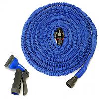 Компактный садовый шланг xhose 15 м с распылителем (икс хоз), фото 1