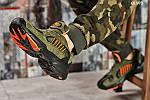 Мужские кроссовки Adidas Yung 1 (зеленые), фото 3