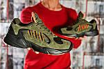 Мужские кроссовки Adidas Yung 1 (зеленые), фото 4