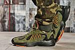 Мужские кроссовки Adidas Yung 1 (зеленые), фото 5