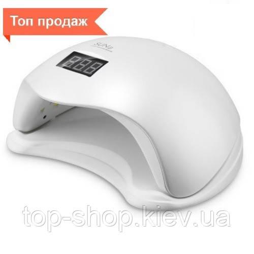 Светодиодная UV+LED лампа SUN 5 48W white с дисплеем и сенсором, сушилка для ногтей