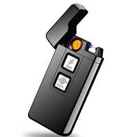 Электроимпульсная подарочная USB зажигалка ZU 33172, фото 1