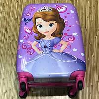 Детский чемодан на колесах Принцесса София, фото 1