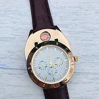 Часы-зажигалка ZHUOHENG SINCE2010 2-в-1: Кварцевые часы + спиральная зажигалка, фото 1