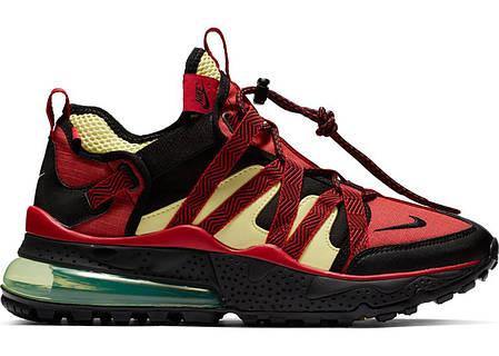 """Кроссовки Nike Air Max 270 Bowfin """"Красные\Черные"""", фото 2"""