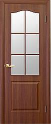 Модель Фортис ПВХ стекло сатин межкомнатные двери, Николаев