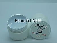 Гель-краска для ногтей UK.Nail №01 цвет белый.7 грамм, фото 1
