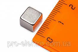 Неодимовый магнит куб 8х8х8 мм