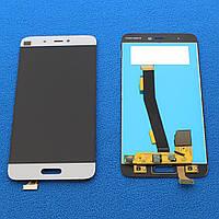 Дисплей с сенсором XIAOMI M5 (LCD) модуль для телефона, белый.