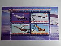 """Конго Блок """"Самолеты"""" 2009 г."""