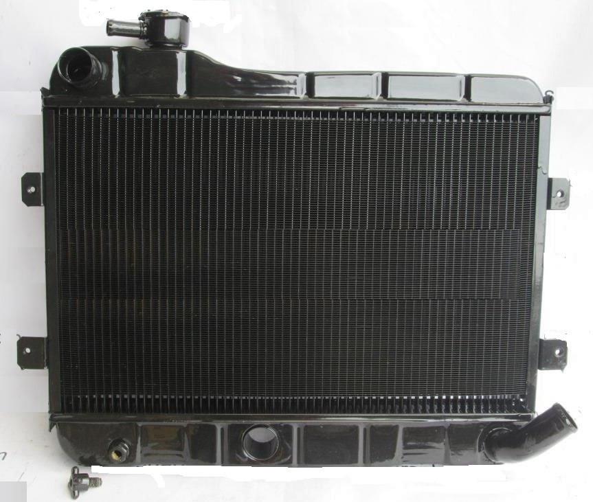 Радиатор вод. охлажд. ВАЗ 2101,02 (2-х рядн.) (пр-во г.Бишкек), 1519.1301010