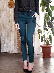 Брюки Блери 0472_4 тёмно-зелёный, бордо,молочный, серый