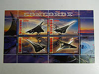 """Руанда Блок """"Самолеты"""" 2010 г."""