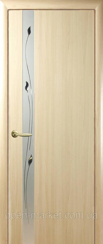Модель Злата De Luxe без скла міжкімнатні двері, Миколаїв