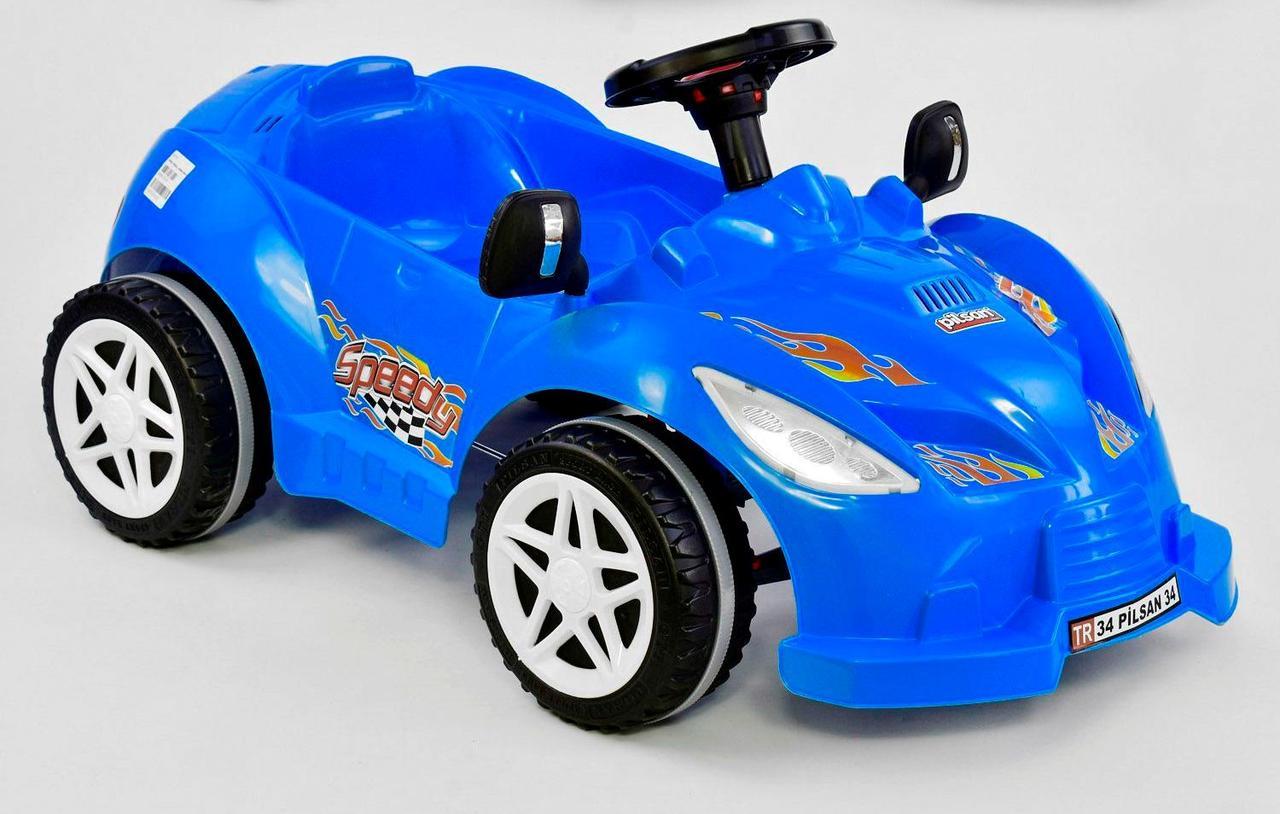 Машина педальная HERBY 07-312 СИНІЙ 76446