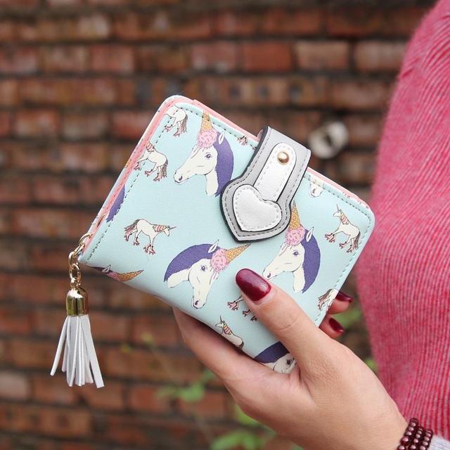 Жіночий гаманець Єдиноріг