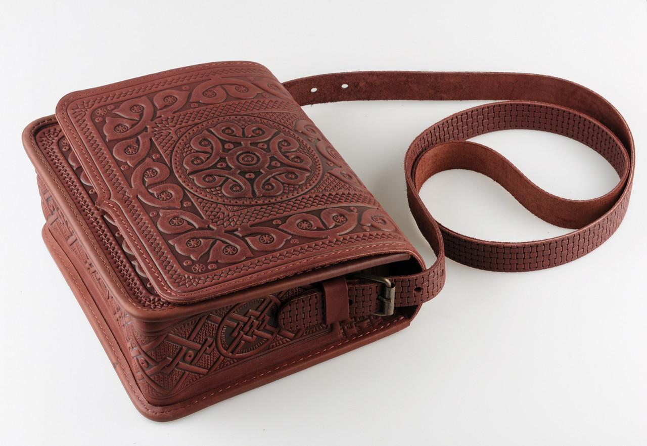 32cc418efe34 Эксклюзивные кожаные сумки ручной работы | купить на Handwork.studio