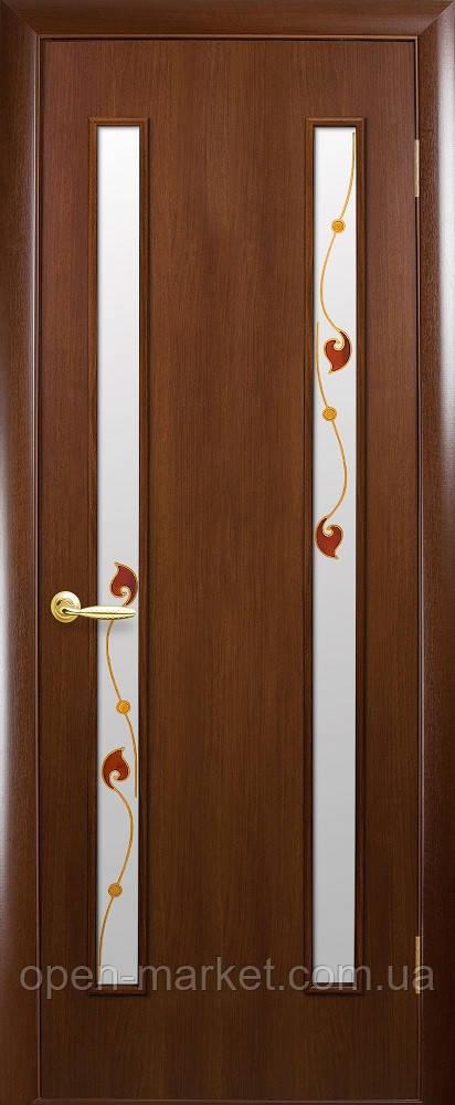 Модель Вера ДВП стекло Р3 межкомнатные двери, Николаев